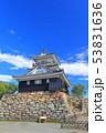 【静岡県】新緑の浜松城 53831636
