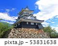 【静岡県】新緑の浜松城 53831638