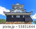 【静岡県】新緑の浜松城 53831644
