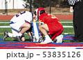 High school boys faceoff lacrosse 53835126