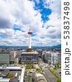 京都タワーと街並 53837498