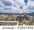京都タワーと街並 53837499