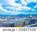 京都タワーと街並 53837500