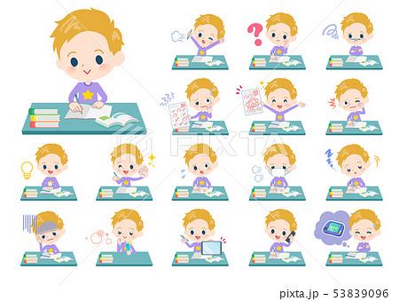 blond hair boy_study 53839096
