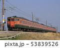 115系 乗り物 ローカル線の写真 53839526