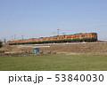 乗り物 ローカル線 電車の写真 53840030