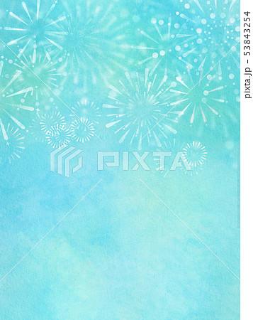 背景-和-和風-和柄-和紙-夏-花火 53843254