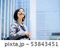 ビジネスウーマン  ビジネスイメージ  働く女性 53843451
