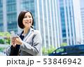 ビジネスウーマン  ビジネスイメージ  働く女性 53846942
