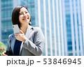 ビジネスウーマン  ビジネスイメージ  働く女性 53846945