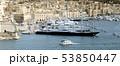 Luxury super yachts moored at Manoel Island, Malta 53850447