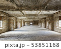abandoned building interior 53851168