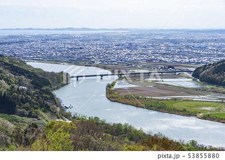 街並み 郊外 石巻 トヤケ森山 東北地方 53855880