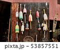 Fishing buoys at flea market 53857551