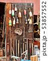 Fishing buoys at flea market 53857552