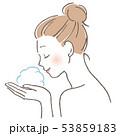 ベクター ビューティー 女性のイラスト 53859183