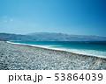 Ocean beach on the Crete long explosure 53864039