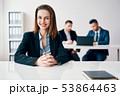 キャリアウーマン ビジネスウーマン 女性実業家の写真 53864463