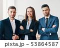 ビジネス チーム グループの写真 53864587