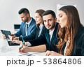 人々 人物 ビジネスの写真 53864806