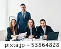 ビジネス 人々 人物の写真 53864828