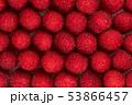 Fresh raspberries dark pink color pattern background 53866457