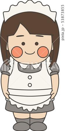 女性キャラクターメイド 53873855