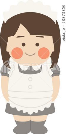 女性キャラクターメイド 53873856