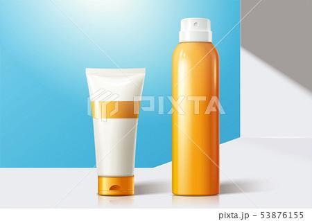 Sun spray blank bottles 53876155