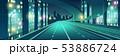 Night city illuminated highway cartoon vector 53886724