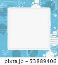 背景素材-夏イメージ-和モダン-水玉-金魚-アクアリウム 53889406
