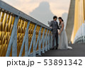Wedding style abstract blur background 53891342
