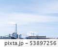 火力発電所 バイオマス発電 電力 青空 エコ 53897256