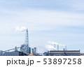火力発電所 バイオマス発電 電力 青空 エコ 53897258
