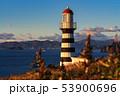 Pacific Coast - Lighthouse on Kamchatka Peninsula 53900696
