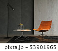 Interior of modern living room with sofa 3D rendering 53901965
