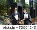 男性 ビジネスウーマン ビジネスの写真 53904245