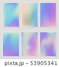 Holographic foil  gradient  iridescent  set 53905341