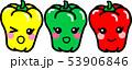 パプリカ ピ-マン 3色 キャラクター 野菜 53906846