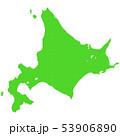 北海道地図 53906890