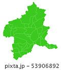 群馬県地図 53906892