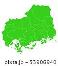 広島県地図 53906940