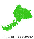 福井県地図 53906942