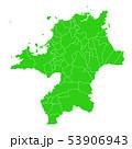 福岡県地図 53906943
