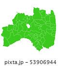 福島県地図 53906944