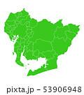 愛知県地図 53906948