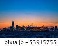 《神奈川県》横浜みなとみらいの夜景・クルーズ船 53915755