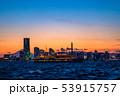 《神奈川県》横浜みなとみらいの夜景・クルーズ船 53915757
