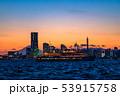 《神奈川県》横浜みなとみらいの夜景・クルーズ船 53915758
