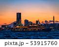 《神奈川県》横浜みなとみらいの夜景・クルーズ船 53915760